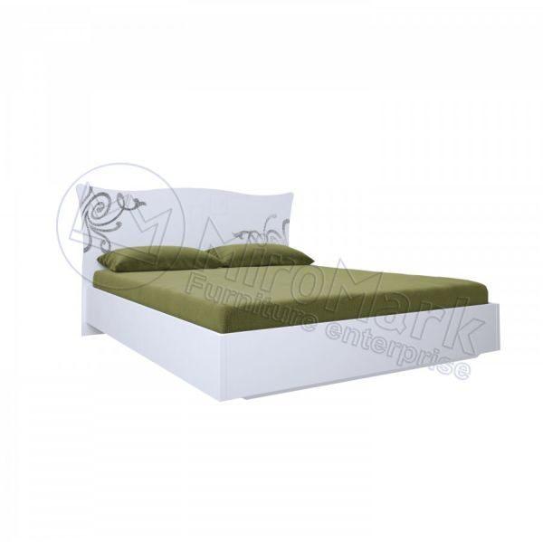 Кровать Богема 160x200, без каркаса BG-36-WB