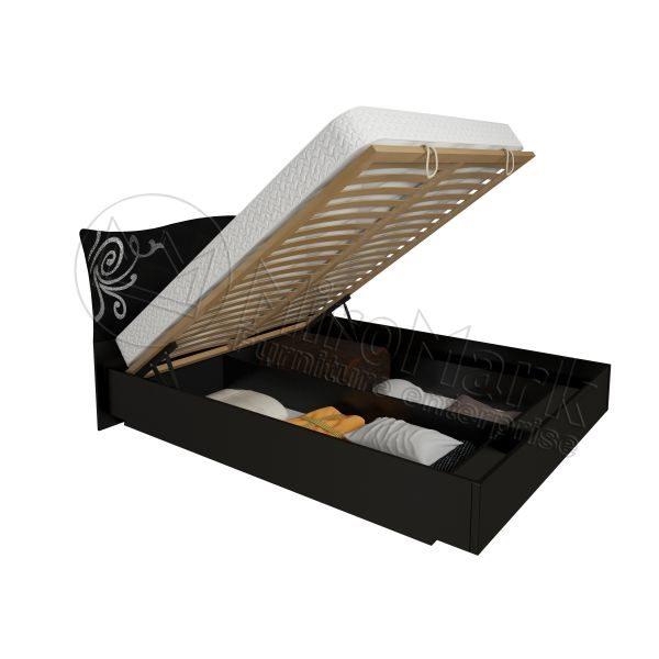 Кровать Богема 180x200, подъёмная каркасом BG-48-BL