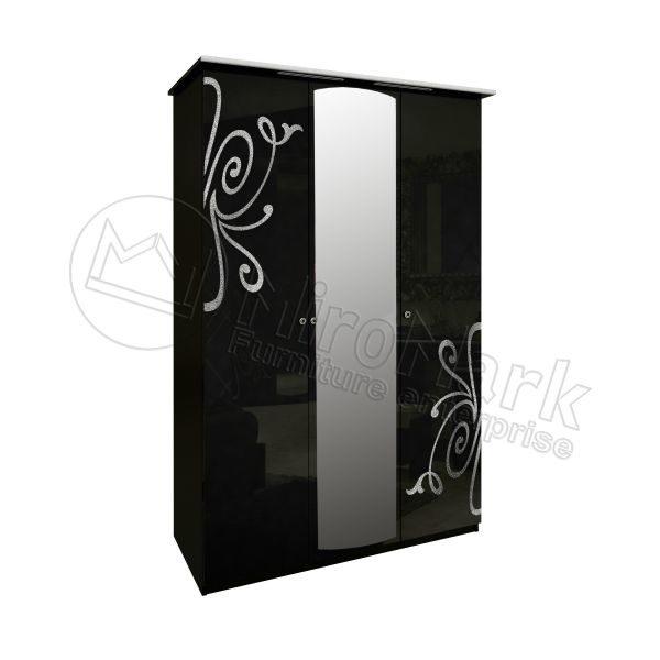 Шкаф 3 двери Богема BG-13-BL