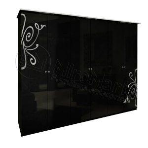 Шкаф 6 дверей Богема без зеркал BG-26-BL