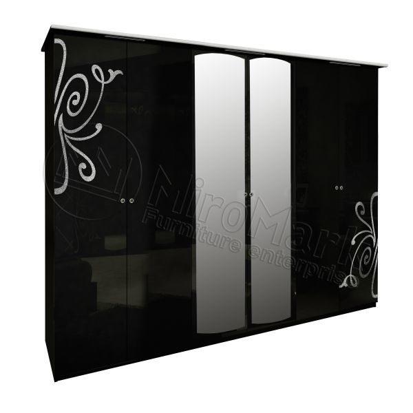 Шкаф 6 дверей Богема BG-16-BL