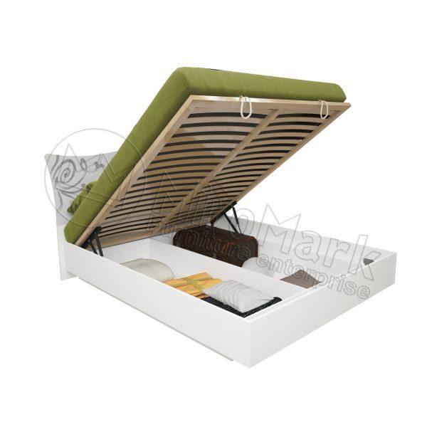Кровать Богема 160x200, подъёмная с каркасом BG-46-WB