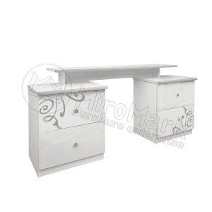 Туалетный столик Богема 4 ящика BG-74-WB