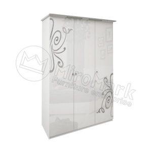 Шкаф 3 двери Богема без зеркал BG-23-WB