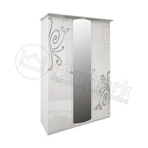 Шкаф 3 двери Богема BG-13-WB
