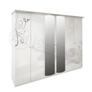 Шкаф 6 дверей Богема BG-16-WB