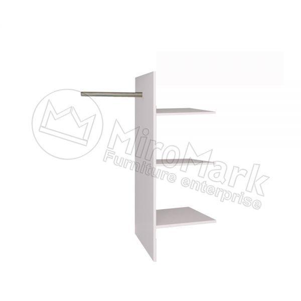 Полки Т-образные в шкаф Виола 3, 4, 6 дв. VL-77