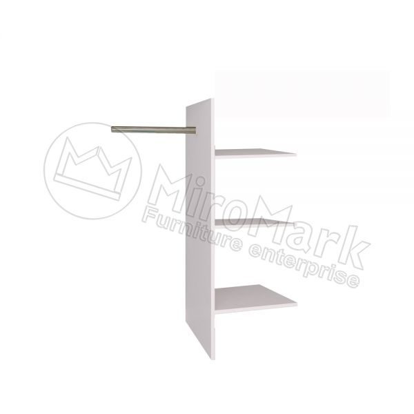 Полки Т-образные для шкафа 3,4,6 дв. Богема BG-77