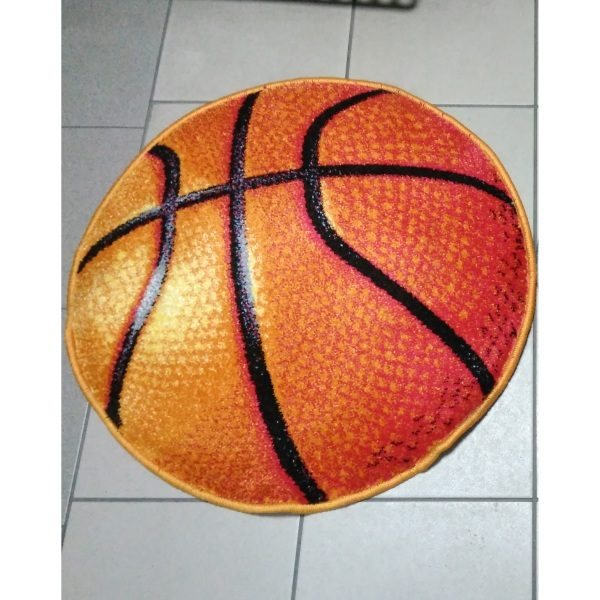 Ковер смайл круглый Баскетбольный Мяч 11189-160