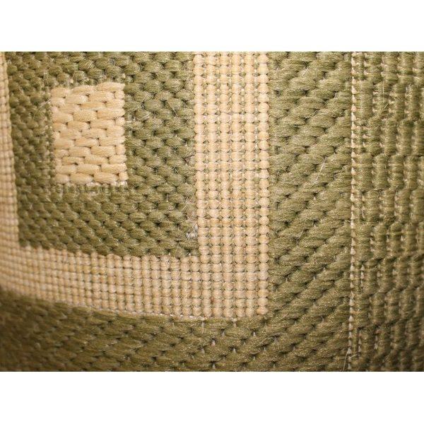Дорожка рогожка Green-Cream (1м)