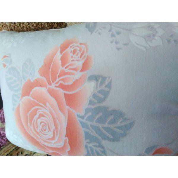 Подушка Нежность Велюр 50х70 (рисунок Розы)