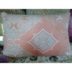 Подушка Нежность Велюр 50х70 (рисунок Дамаск)