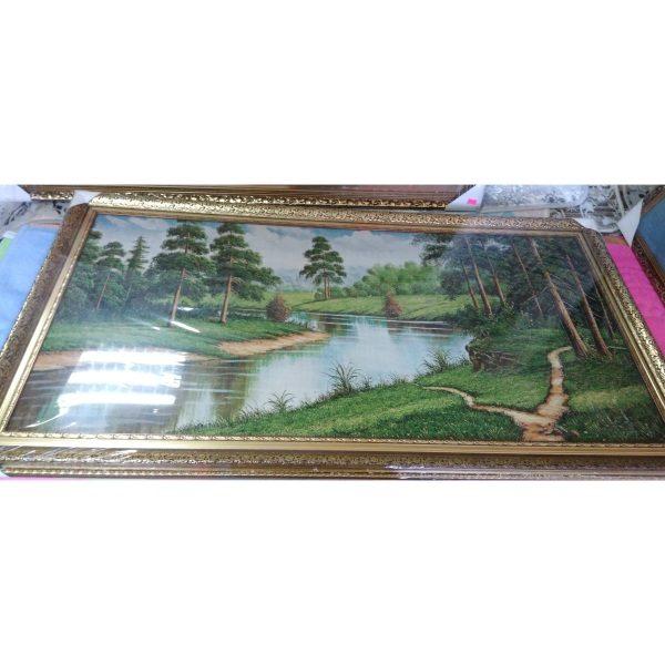 Картина-гобелен Лесная природа (50х100см)
