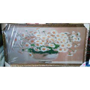 Картина-гобелен Ромашки (50х100см)