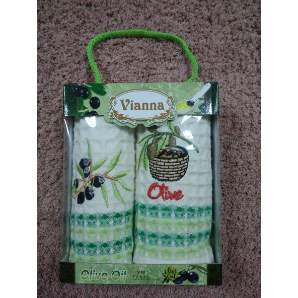 Набор кухонных полотенец Vianna Olive Oil 35х50см (2шт.)