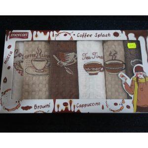 Набор кухонных полотенец Coffee Splash