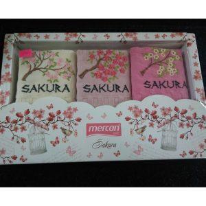 Набор кухонных полотенец Mercan Sakura