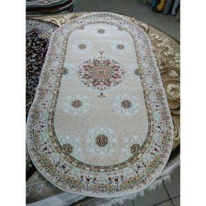 Акриловый ковер Sultan 0889 IVORY-IVORY (0.8х1.5м)
