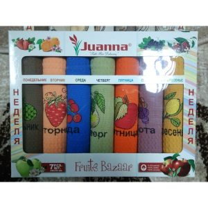 Набор кухонных полотенец Juanna Неделька
