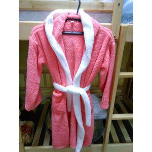 Детский халат Софт коралловый на 10-12лет