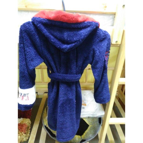 Детский халат America Софт синий