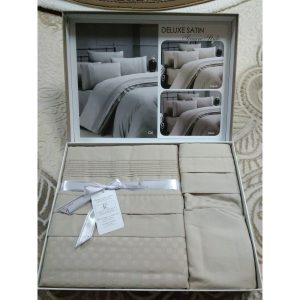 Постель Square Style Toprak Сатин Deluxe 200х220см First Choice