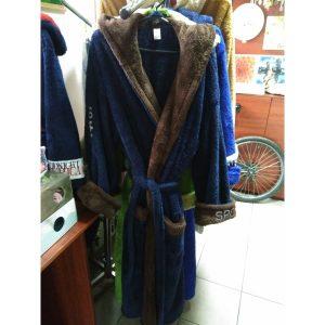 Мужской халат Sport Софт т.синий XL