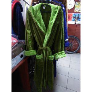 Мужской халат Sport Софт зелёный XL