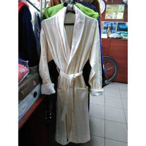 Мужской халат велюр Alchera XL (c воротником)