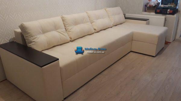 Угловой диван Комфорт Люкс 3.1м ткань Balaton 02 Эксим текстиль