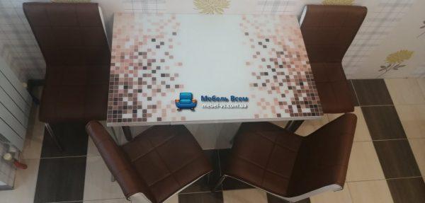 Стол + 4 стула Лотос NK CB-030 70x110-170