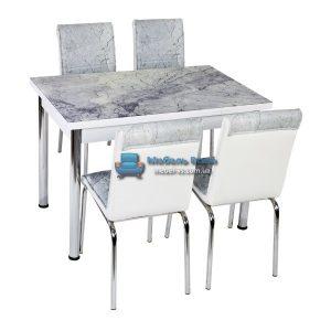 Стол + 4 стула Лотос NK CB-052 70x110-170