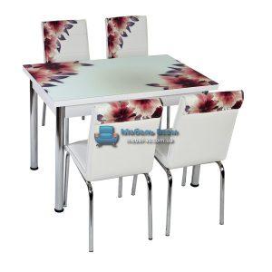 Стол + 4 стула Лотос NK CB-055 70x110-170