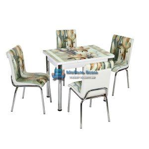 Стол + 4 стула Лотос NK CB-112 60x90-150