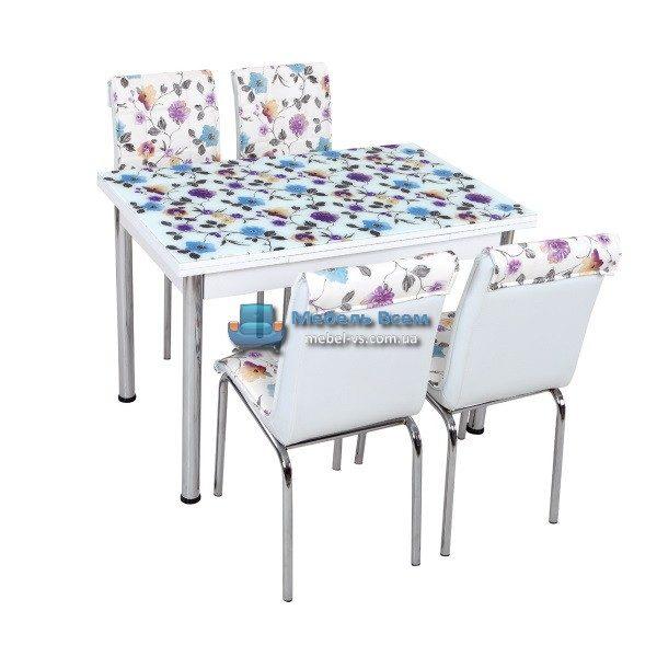 Стол + 4 стула Лотос SK CB-041 70x110-170