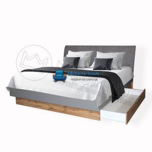 Кровать Линц 180x200 с ящиками LI-38-GS