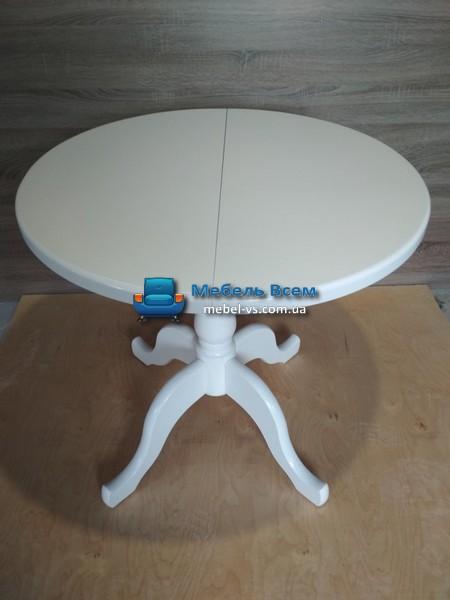 Стол раздвижной круглый KR 800-1100x800