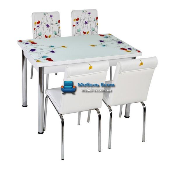 Стол + 4 стула Лотос NK CB-013 70x110-170