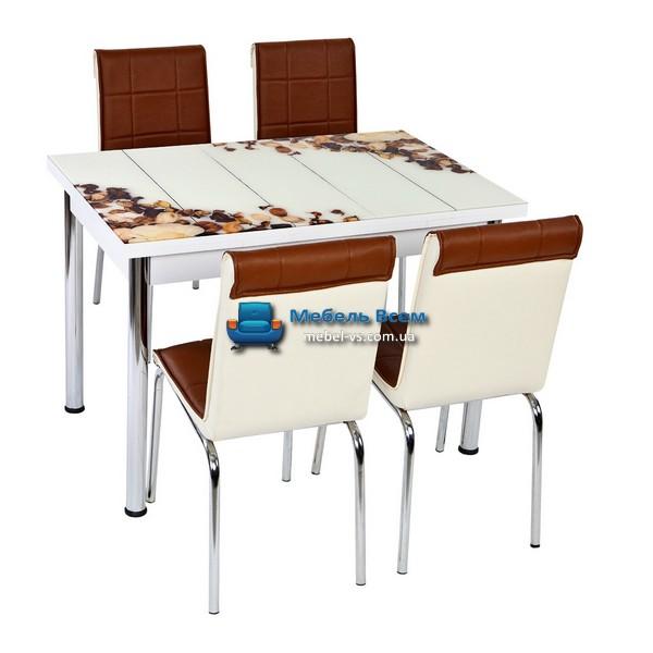 Стол + 4 стула Лотос NK CB-041 70x110-170
