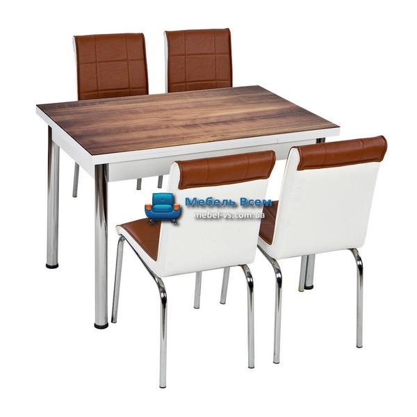 Стол + 4 стула Лотос NK CB-047 70x110-170