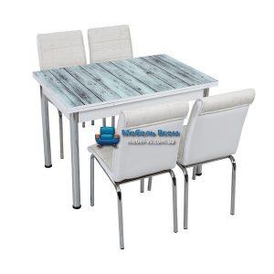 Стол + 4 стула Лотос SK CB-036 70x110-170