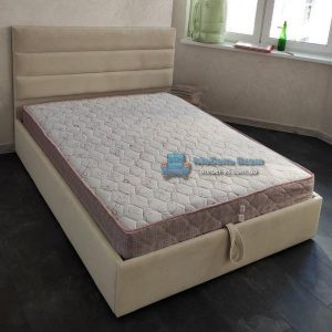Двухспальная мягкая кровать с ПМ Лайн 3
