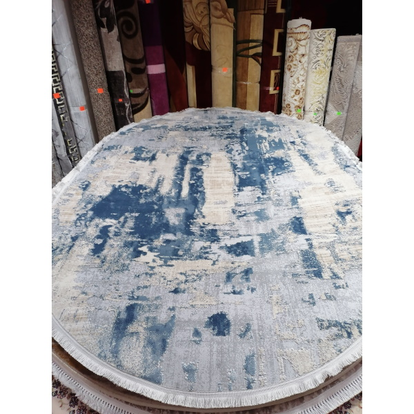 Ковер LA CASSA 6540A D.BLUE-CREAM (2х2.9м) O