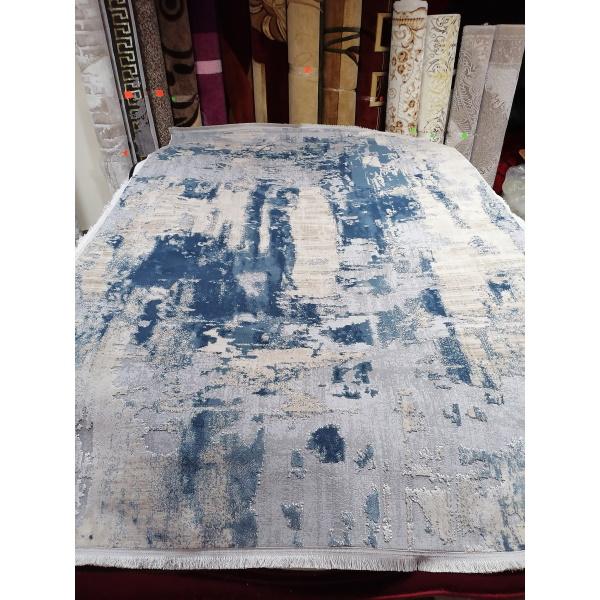 Ковер LA CASSA 6540A D.BLUE-CREAM (2х2.9м)